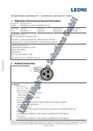 1 Allgemeine Informationen/General information 2 Aufbau ...