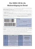 Die Kennzeichnung von Rindfleisch mit der EAN-128 ... - Page 2