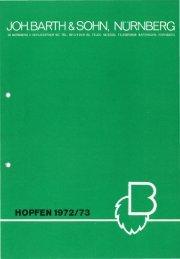Ernte 1972 - Barth-Haas Group
