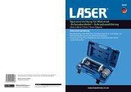 Schraubenfeder – Schraubausführung - Laser Tools