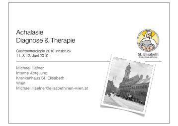 Achalasie Diagnose & Therapie - Gastroenterologie-tirol.com