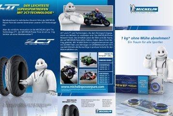 Und hier geht es zum Michelin Flyer Power Pure