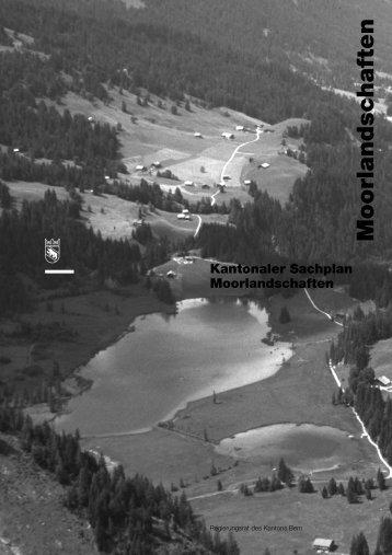 Kantonaler Sachplan Moorlandschaften - Justiz-, Gemeinde ...