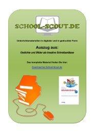 Gedichte und Bilder als kreative Schreibanlässe - School-Scout