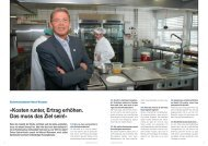 Swiss Gastro-Kombi 4/2010 - Good Food Experts