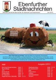 Ebenfurther Stadtnachrichten vom Juni 2012 - Stadtgemeinde ...