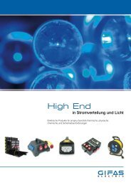 High End - GIFAS ELECTRIC GmbH