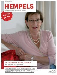 Ex-Politikerin Heide Simonis - Hempels