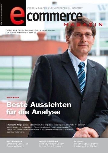 Leseprobe e-commerce Magazin 2013/02