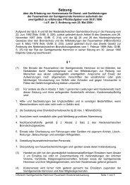 SG Feuerwehr Kostenersatz idF 3. Änd. 1990-01-30