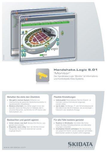 Handshake.Logic 5.01 'Monitor' - Skidata
