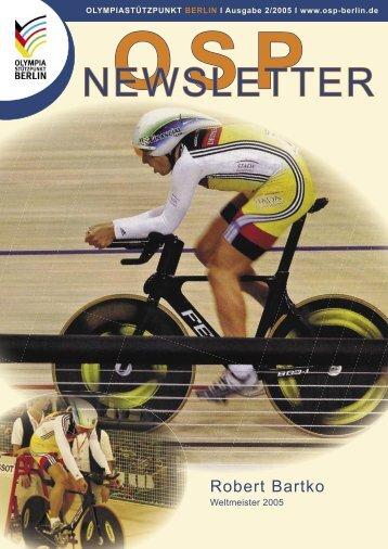 Newsletter 2-2005 - Olympiastützpunkt Berlin