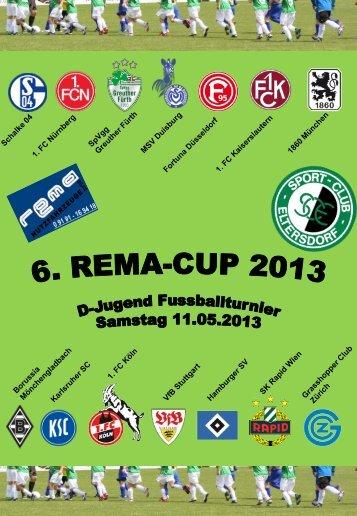 Hier der Link zum --> Turnierheft REMA CUP - SC Eltersdorf