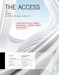 """""""Architektur ist immer im wAndel, zurzeit gAnz besonders …"""""""