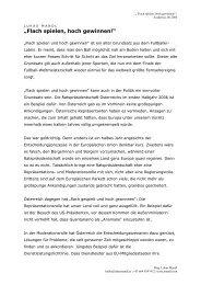 2006-05-31 Flach spielen - hoch gewinnen - Academia - Lukas Mandl