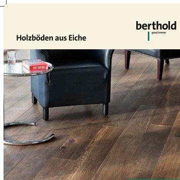 Katalog Holzböden aus eiche - Berthold