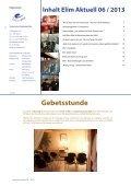 Rundbrief Elim Aktuell Juni 2013 als PDF ansehen / downloaden - Page 2