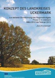 30-09-2011 UM RB V Konzept - Regionalbudget Uckermark