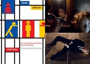 Katalog 2009 - Prag Berlin Festival