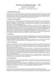 Allgemeine Geschäftsbedingungen – AGB - WarmWerk