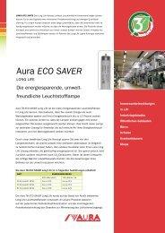 Aura ECO SAVER - EKO Energie Kosten