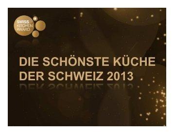 Präsentation [PDF] - Küchen-Verband der Schweiz