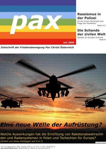 Ausgabe 02/2009 - Katholische Hochschulgemeinde Linz - JKU