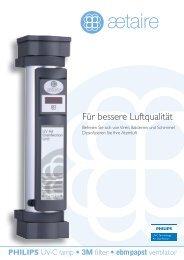 Für bessere Luftqualität - Aetaire