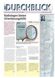 Radiologen bieten Orientierungshilfe - Verband für Bildgebende ...