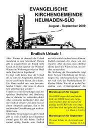 Word Pro - 2009-8Text.lwp - Evang. Kirchengemeinde Heumaden-Süd