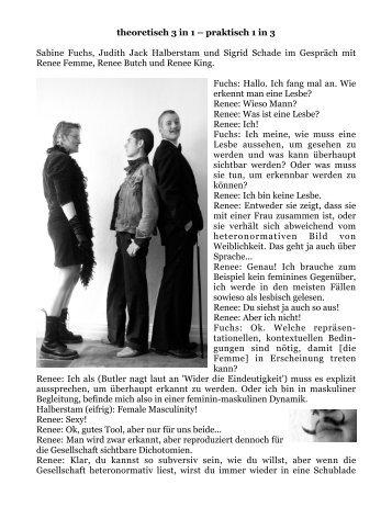 theoretisch 3 in 1 – praktisch 1 in 3 Sabine Fuchs, Judith ... - bootred