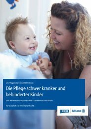 Die Pflege schwer kranker und behinderter Kinder - Hilfreiche ...
