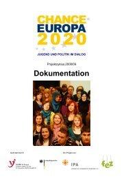 CE2020-Dokumentation_2009 - CHANCE EUROPA 2020
