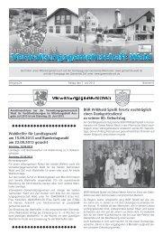Wahlhelfer für Landtagswahl am 15.09.2013 und ... - Gemeinde WALD