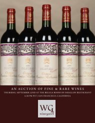 Download Catalog - WineGavel | Fine and Rare Wine Auctions