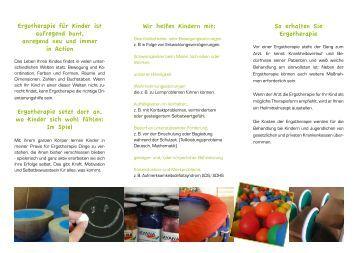 Ergotherapie für Kinder - Praxis Nienburg.pdf - Ergotherapie Schindler