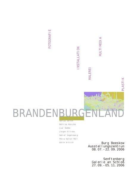 BRANDENBURGENLAND - Atelier Villmow