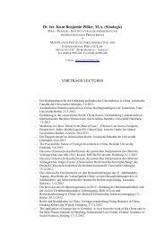 Dr. iur. Knut Benjamin Pißler, MA (Sinologie) - Max-Planck-Institut für ...