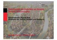 Verkehrpolitik der Stadt Bern am Beispiel aktueller ... - Rue de l'avenir