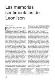 Las memorias sentimentales de Leonilson