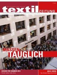 MASSEN- - Österreichische Textil Zeitung