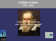 Gallileo Galilei - Freie Astronomen Höflein