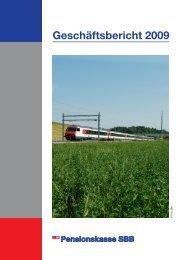 Geschäftsbericht 2009 - Schweizer Personalvorsorge