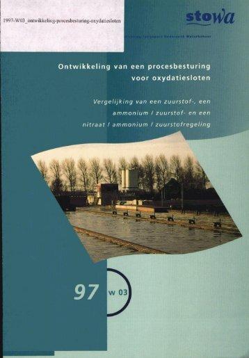 rapport 1997-W-03 - Stowa