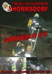 Jahresbericht 2010 (8,0 MB) - FF Hörmsdorf