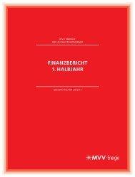 Finanzbericht 1. Halbjahr 2012/13 - MVV Energie AG