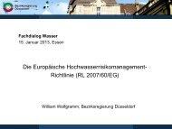 Die Europäische Hochwasserrisikomanagement ... - Metropole Ruhr