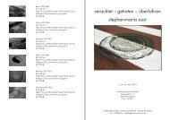Katalog Polizeipräsidium Düsseldorf 2010 - stephan-maria aust