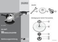 10948 A5 Winkelschleifer DURO - Medion