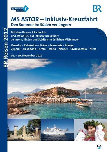"""""""MS ASTOR – Inklusiv-Kreuzfahrt"""" als PDF - Ir-tours.de"""